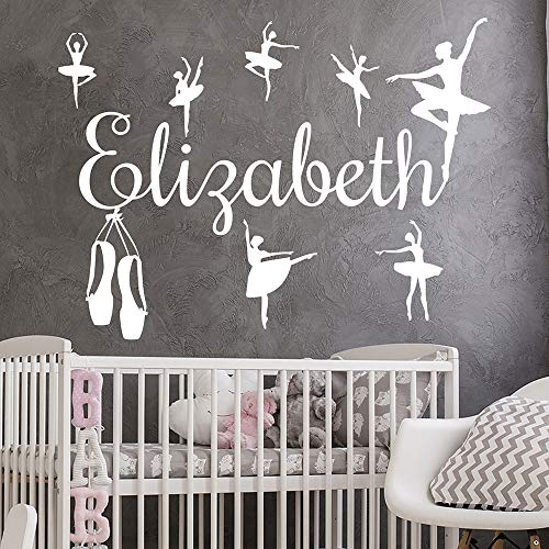 Creative Wall Stickers Girls Baby Wall Decals Ballerina Ballerina Wall Stickers Vinyl Pointe Art Kids Decoration | Art Deco for Motivation and Inspiration