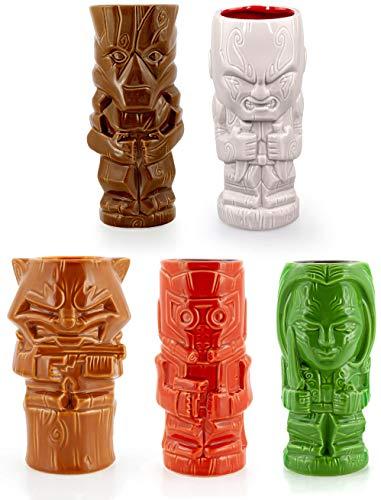 Marvel Guardians of the Galaxy Series 1 Ceramic Geeki Tiki Mugs | Set of 5