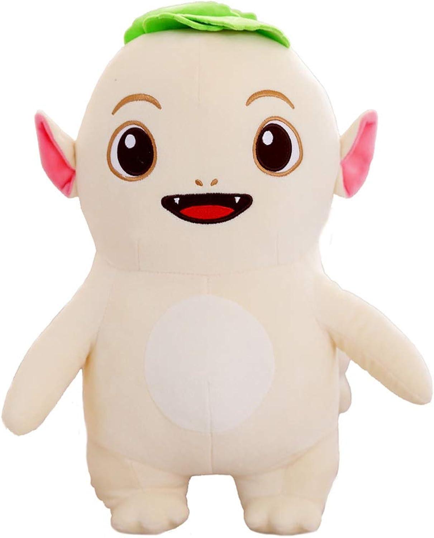 Guyuexuan Bianco Sveglio Sveglio del Cuscino di Sonno del Bambino della Ragazza della Bambola della Bambola del Giocattolo della Peluche Eccellente Ultimi modelloli ( Coloree   D , Dimensione   35CM )