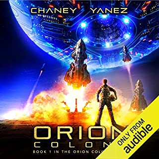 Orion Colony audiobook cover art