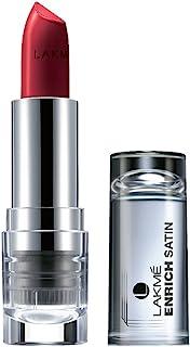 Lakme Enrich Satins Lip Color, Shade P128, 4.3 gm