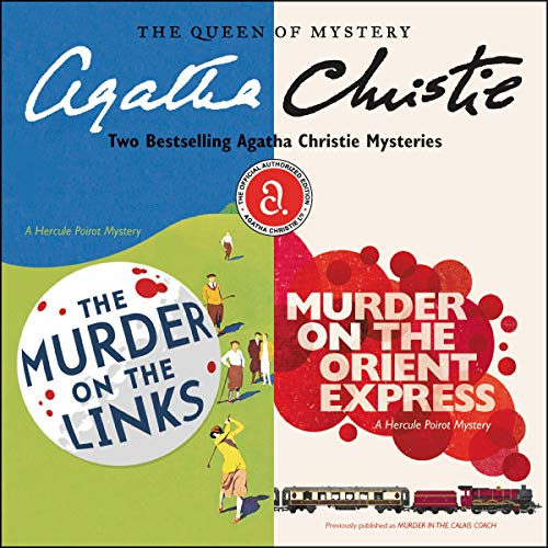 Couverture de The Murder on the Links & Murder on the Orient Express