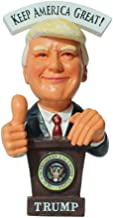 """Heartbeat Donald Trump Doll - Bobbling Thumbs UP 2020 Presidential Election, President Trump Decorative Doll with """"America..."""