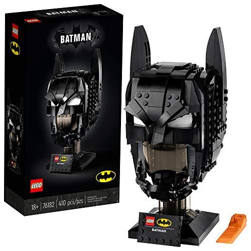 LEGO DC Batman: Batman Cowl 76182 - Kit de construcción coleccionable de modelo de Batman (410 piezas)