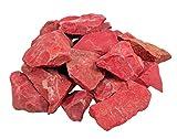 Lebensquelle Plus - Diaspro rosso, pietre grezze non trattate, 100% naturali, 300 g