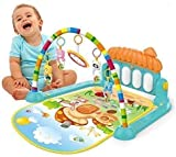 Cable World Kick and Play Musical Keyboard Mat Piano Baby Gym and Fitness