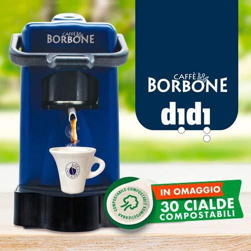 Didiesse Kaffeemaschine Didi' Borbone Farbe Blau ESE 44 mm – Magische Emotion Pack mit 30 Pads gratis