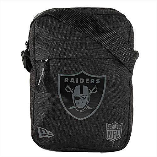 New Era NFL Side Bag ~ Oakland Raiders schwarz