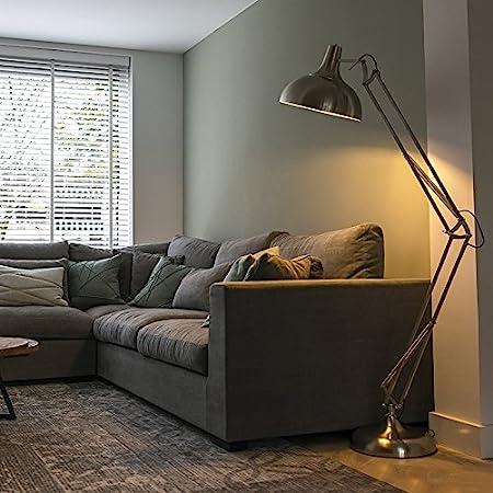 Qazqa Lampadaire | Lampe sur pied Rétro - Hobby Fl Lampe Acier - E27 - Convient pour LED - 1 x 60 Watt