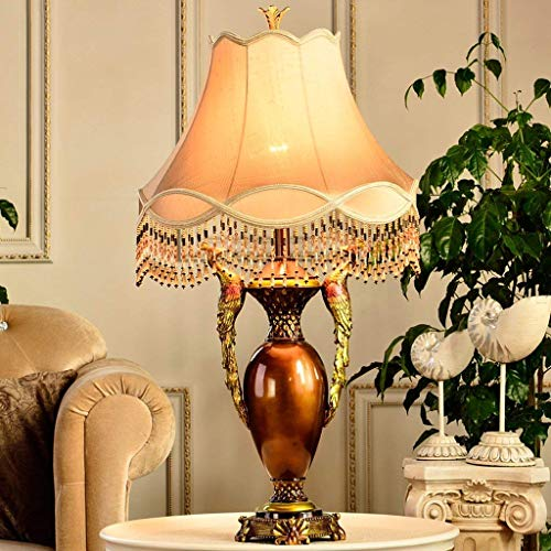 HYY-YY Lámparas de Mesa, Personalidad Vida Sencilla Sala de Estudio Dormitorio cabecera Decorativa lámparas de Mesa, iluminación Decorativa de Lectura luz de la Noche