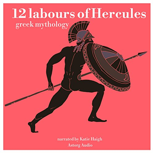 12 Labours of Hercules audiobook cover art