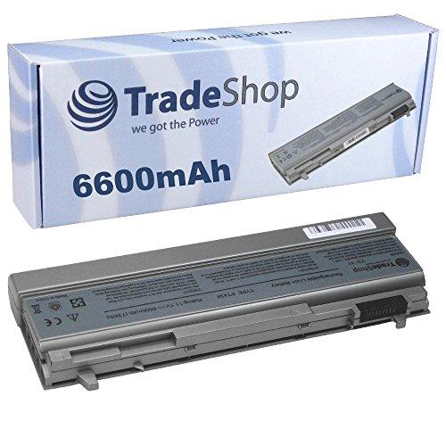 Hochleistungs Li-Ion AKKU 6600mAh für Dell Latitude E6400 E6400ATG E6400XFR E6410 E6410ATG E6500 E6510 Precision M2400 M4400 M4500 M6400 ersetzt PT434 PT435 PT436 PT437 KY477 KY265 KY266 KY268 FU268 FU274 FU571