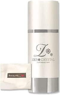 ZERO CRYSTAL ゼロクリスタル 50g【ギフトセット】清潔感溢れる、真っ白な歯へ!