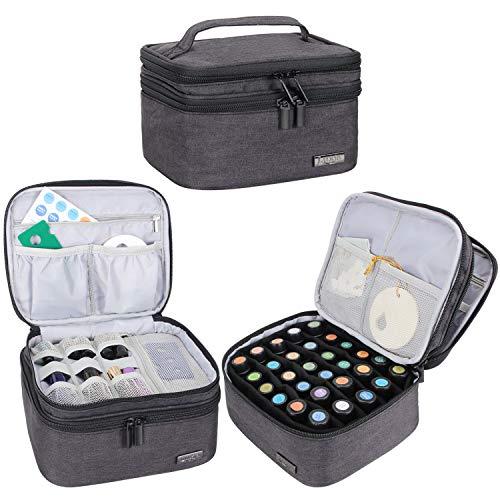 Luxja Caja Aceite Esencial Organizador Aceite Perfumado