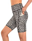 Promover Pantalones Cortos de Yoga para Mujer Leggings de Cintura Alta con Bolsillos Control de Abdomen Leggings de Yoga Pantalones de Entrenamiento