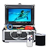Underwater Fishing Camera Anysun Portable Fishing Camera with 7'' Color LCD Monitor 1080P Waterproof IP68 Underwater Viewing System with 30m/100ft Cable for Ice Lake Boat Sea Fishing(30m/100ft-NO DVR)