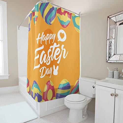 Rcerirt stilvoll klassisch gestreift leicht zu pflegener Stoff mit Verschluss für Badezimmer abnehmbare Auskleidung Polyestergewebe White 180x180cm