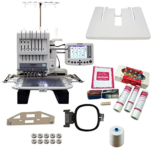 Buy Janome MB-7 Embroidery Machine with Exclusive Bonus Bundle
