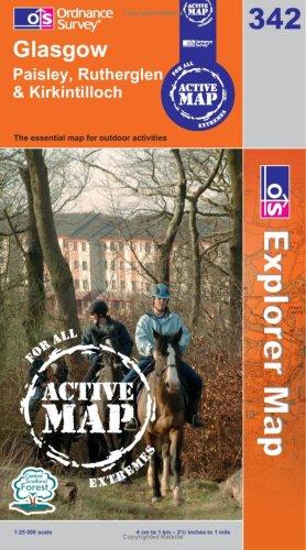 OS Explorer map 342 : Glasgow