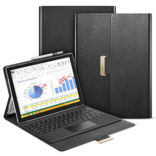 ESR Case for Surface Pro 7 (2019) / Pro 6 (2018) / Pro 5 (2017) / Pro 4 (2015) 12.3inch Tablet, Multi-Angle Business Cover with Pen Holder [Magnetic Lock Design] Compatible with Type Cover Keyboard