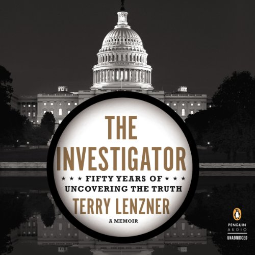 The Investigator audiobook cover art