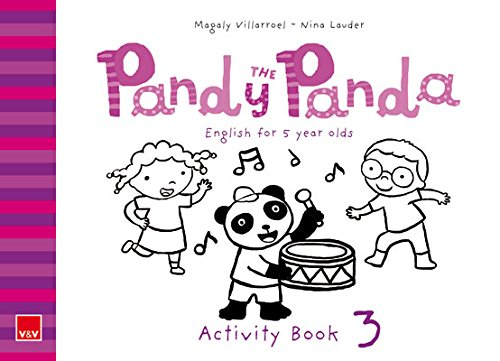 Pandy The Panda 3. Activity Book. English for 5 Year Olds