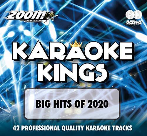 Zoom Karaoke CD+G - Karaoke Kings Vol. 3 - Big Hits of 2020 (Double CD+G)