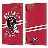 Head Case Designs Licenciado Oficialmente NFL Casco Distressed Look 100th Atlanta Falcons Logo Art C...
