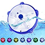 DeeprBlu Floating Pool Lights, IP68 Waterproof Underwater Submersible Led Lights, Magnetic Hot Tub Lights for Bathtub, Battery Powered Color Changing Spa Lights,Decor for Shower, Party, (1pcs)