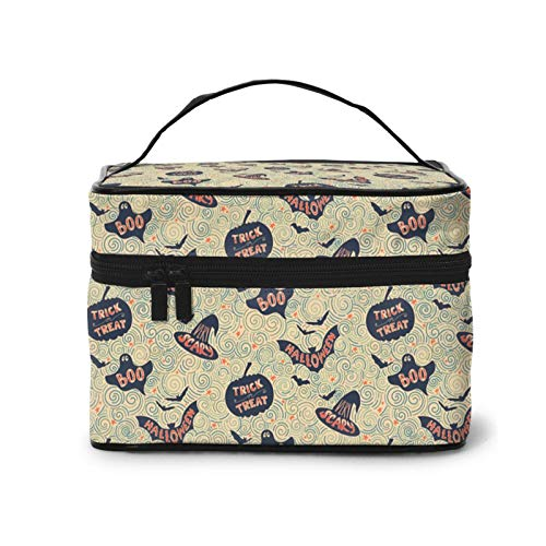 Halloween Decorations Travel Cosmetic Bag Large Capacity Waterproof Organizer For Women And Girls