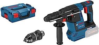 Bosch Professional 611910001 18V System Perforateur sans-fil GBH 18V-26 F (sans Batterie/Chargeur, avec Poignée Supl, Buté...