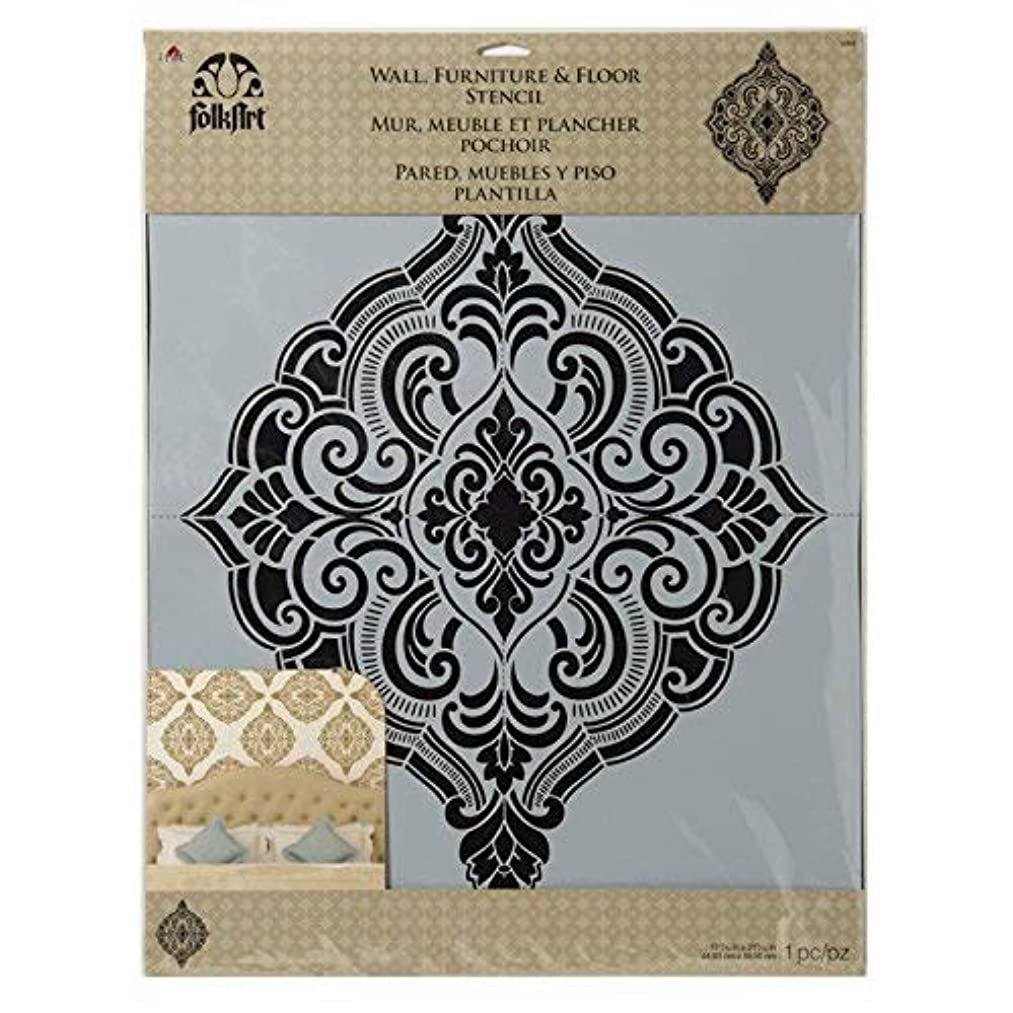 FolkArt Home Decor Stencil, 34964 Ornate Damask