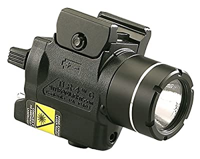Streamlight 69247 TLR-4G H&K USP Full Size Rail Mounted Tactical Light with Integrated Green Laser and CR2 Lithium Battery - 115 Lumens
