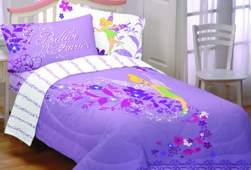 purple tinkerbell bedding