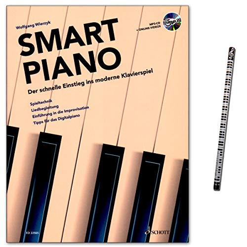 Smart Piano – La rápida entrada al moderno juego de piano técnica – Liedbegleitung – introducción en la improvisación – consejos para el piano digital