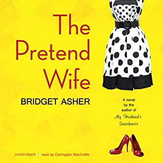 The Pretend Wife audiobook cover art