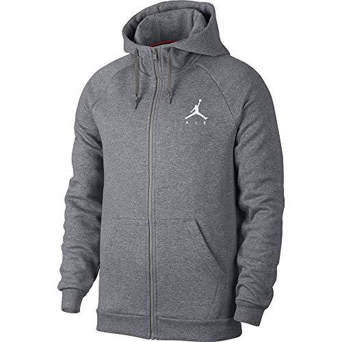 Nike Herren Jumpman Fz Jacke,mehrfarbig(carbon heather/White),XXL