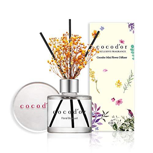 [Cocod\'or/ Blumenstrauß] Raumduft 50ml mit konservierter Blume, Diffuser, Duftöle mit hochwertiger Verpackung, langanhaltend