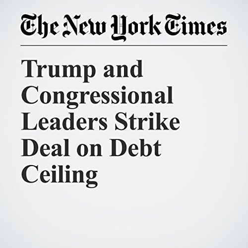 Trump and Congressional Leaders Strike Deal on Debt Ceiling copertina