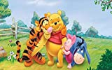 1000 Piece Jigsaw Puzzles For Adults Kids Winnie The Pooh And Tigger Friends Large Jigsaw Intellectual Educational Game Difficult And Challenge