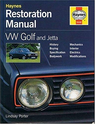 Compare Textbook Prices for VW Golf and Jetta Restoration Manual Restoration Manuals  ISBN 9781859604489 by Porter, Lindsay