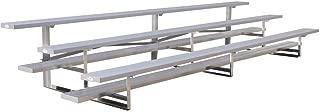 Ultra Play 15 ft. 3-Row Low Rise Aluminum Bleacher Frame