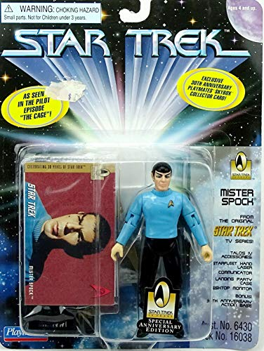 Paramount Pictures Star Trek MR. Spock with Bonus 30TH Anniversay Action Base