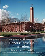 Honors Theses in International Theory and Policy