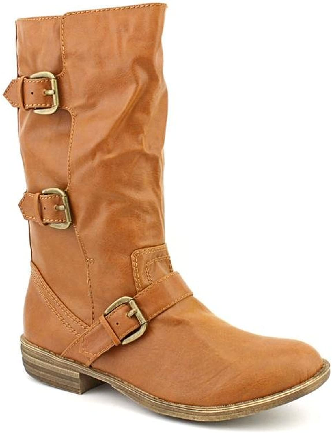 American Rag Womens Kandic Almond Toe Mid-Calf Fashion Boots, Brown, Size 5.5