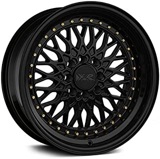 XXR Wheels 536 Black Wheel with Painted Finish (15 x 8. inches /4 x 100 mm, 0 mm Offset)