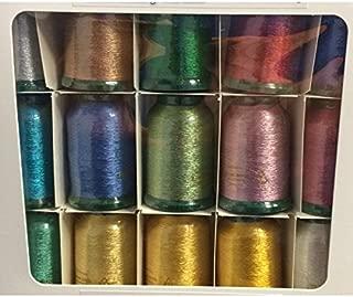 Kingstar Metallic Embroidery Thread Set