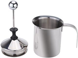 comprar comparacion Dealglad® espumador de Leche máquina cafetera de Acero Inoxidable Doble Malla Hacer Espuma de Leche DIY Fancy café Jarra p...
