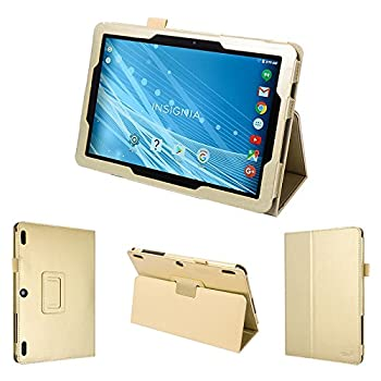 wisers Insignia - 10.1  NS-P10A7100 NS-P10A8100 Tablet case/Cover Gold