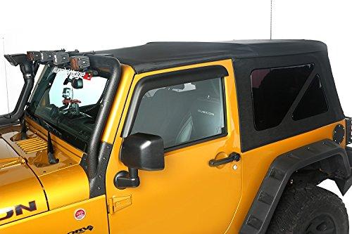 Rugged Ridge 13737.01 Soft Top, Black Diamond; 10-18 Jeep Wrangler JK